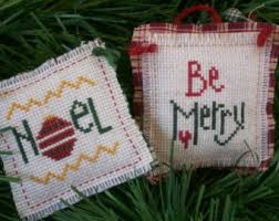 crossstitch ornament etsy
