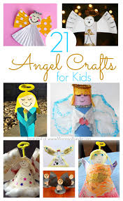 21 angel crafts kids can make at christmas mommy u0027s bundle