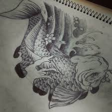 japanese koi fish design by dongedzo on deviantart
