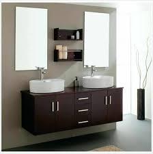 Sink Makeup Vanity Combo by 24 In Vanity Combo Bathroom Dark Brown Ikea Floating Unit With