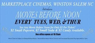 marketplace cinemas winston salem nc