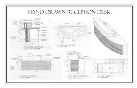 Concrete Reception Desk by Fancy Reception Desk Designs Drawings 44 In With Reception Desk
