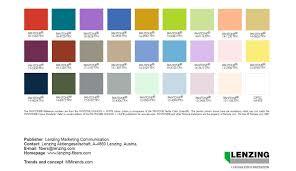 2017 color pallets lenzing color trends spring summer 2017 fashion trendsetter
