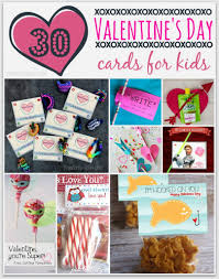 30 diy valentine u0027s day cards for kids see mom click