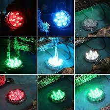Submersible Led Light Centerpieces by Aliexpress Com Buy Night Light 1pcs Submersible 10led Rgb