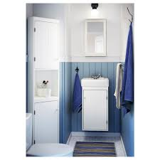 Bathroom Storage Unit White by