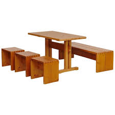 charlotte perriand charlotte perriand table stools and bench for