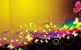 glitter wallpaper with butterflies butterfly wallpaper yellow glitter hd desktop wallpapers 4k hd