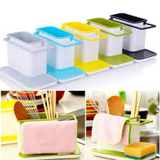 Suction Sponge Holder Sink by Holder Kitchen Picture More Detailed Picture About Sink Draining