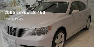 2006 lexus ls 460 12 most expensive priced lexus cars list successstory