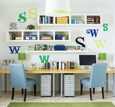 home room study desk for two kids rooms pinterest