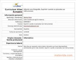 download curriculum vitae europeo pdf da compilare curriculum curriculum vitae europeo in italiano download gratis