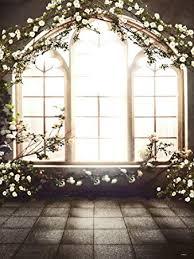 Wedding Backdrop Amazon Amazon Com L2g 5x6 5ft French Window Indoor Flowers Background