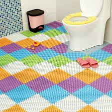 Rug For Bathroom Floor Charming Rug For Bathroom Floor Contemporary Bathroom With