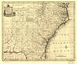 Map Of Tennessee And Georgia by Georgia 1748 Tngenweb Project Tngennet