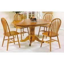 Solid Oak Dining Table Set Solid Oak Pedestal Dining Table