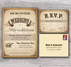 old wedding invitation card template with brown background
