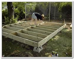 How To Build A Wooden Shed Ramp by Building A Storage Shed Ramp Home Design Ideas