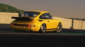 porsche ruf yellowbird drifting outta hereeeee