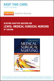 elsevier adaptive quizzing for lewis medical surgical nursing 36
