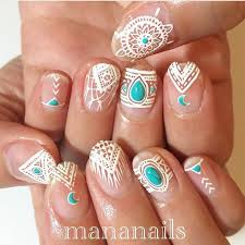 best 25 bohemian nails ideas on pinterest hippie style pretty