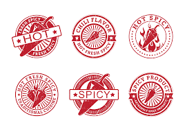 sriracha bottle vector fresh spicy pepper grunge vector stamps download free vector