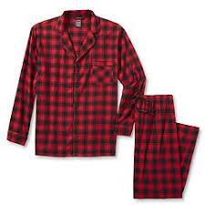 hanes s flannel pajama plaid