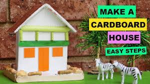 diy cardboard house for kids 1 creative ideas backyard crafts