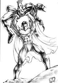 batman vs superman by omegaseraphx on deviantart