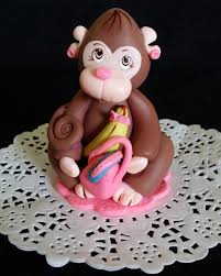 monkey cake topper monkey cake topper baby shower 3871
