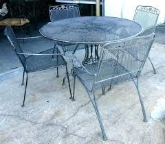 Rod Iron Patio Chairs Iron Patio Table Iron Patio Tab Set Unique Alfresco Home Mans 2