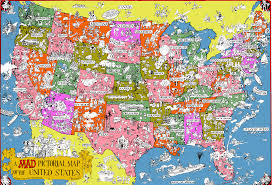 Map Of United States Of America by Geography Maps Esl Resources