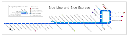 Metro In Chicago Map by Future Chicago Blue Line Imgur