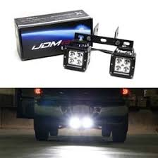 Backup Lights Hitch Mount Dual 20w Cree Led Pod Light Backup Reverse Lights