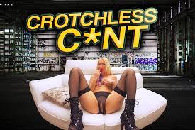 crotchlesspanty upskirt|