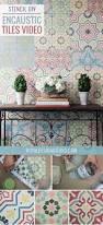 25 best royal design ideas on pinterest wall stencil tutorial encaustic cement tile wall decor