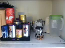 top of fridge storage budgeting joy
