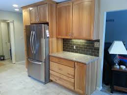 Kitchen Fridge Cabinet Kitchen Cabinets 01 Attractive Home Design