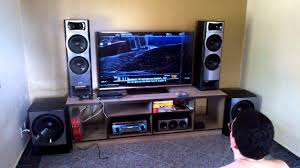 sony home theater with bluetooth call of duty on sony ht m77 and philips 55pfl7007 youtube
