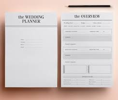 the ultimate wedding planner organizer ultimate printable wedding planner organizer half size