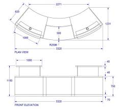 Reception Desk Plan Home Design Typical Reception Desk Height Height Reception
