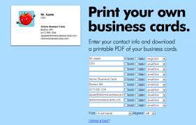 Free Business Card Maker Download Making Business Cards Online Danielpinchbeck Net