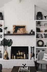 black and white brick fireplace cpmpublishingcom