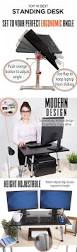 Kangaroo Adjustable Height Desk by Best 25 Best Standing Desk Ideas Only On Pinterest Sit Stand