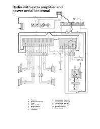 volvo 240 radio wiring volvo car wiring diagrams info