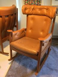 Knoll Rocking Chair Mid Century Retro Parker Knoll Rocking Chair Seat Two Available