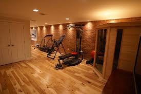 hamilton va basement finish traditional home gym dc metro