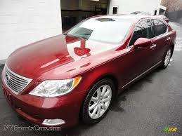 lexus ls 460 parts 2008 lexus ls 460 in noble spinel red mica 065318 nysportscars