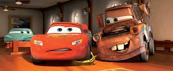cars the lightning mcqueen and mater in court