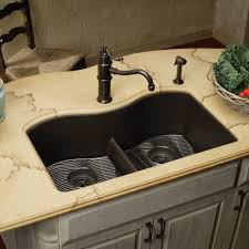 Undermount Granite Kitchen Sink Eelgulb3322bk0 Quartz Classic White Color Undermount Bowl